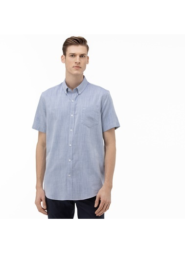 Lacoste Erkek Regular Fit Gömlek CH0017K.17M Mavi